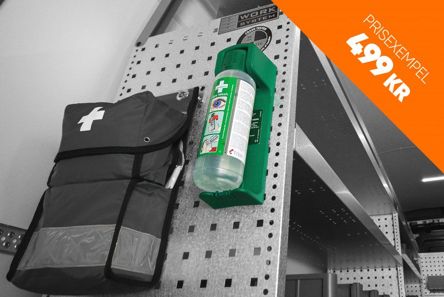 Produkter inom säkerhet såsom stöldskydd, larm och brandsläckare till din transportbil