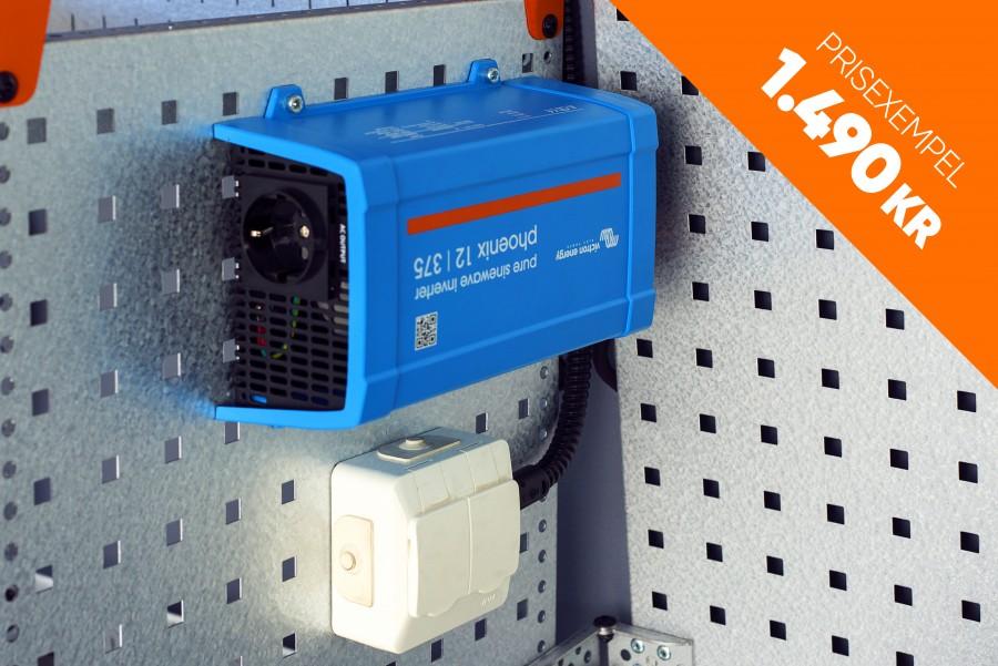 Strömförsörjning till din arbetsbil så som inverter, batterier och laddare