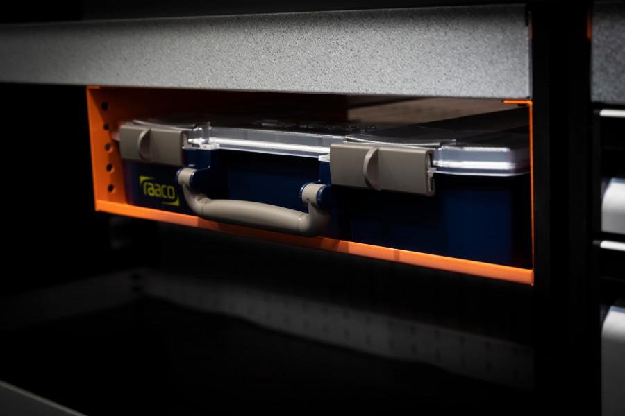 Sortimentväskor och sortimentlådor för din bilutrustning