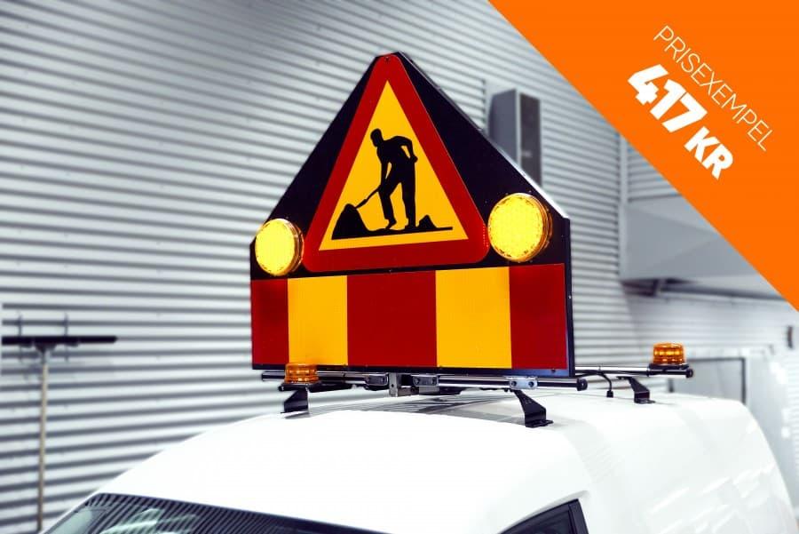 APV produkter så som A20 skyltar, takskyltar och x2 skyltar.