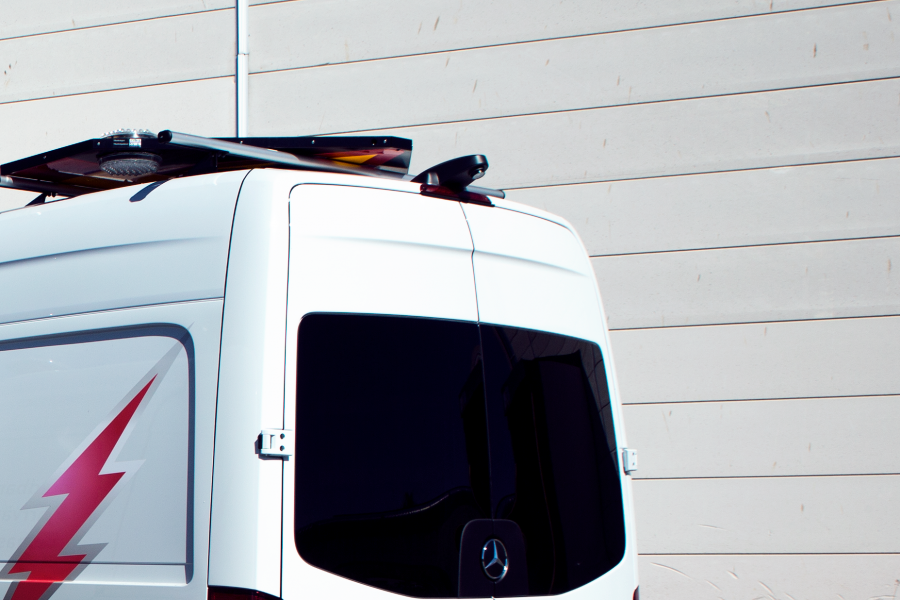 Transportbilskamera inkl. Universal backspegelmonitor