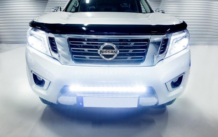 Infälld LED Ramp 670mm Nissan Navara.