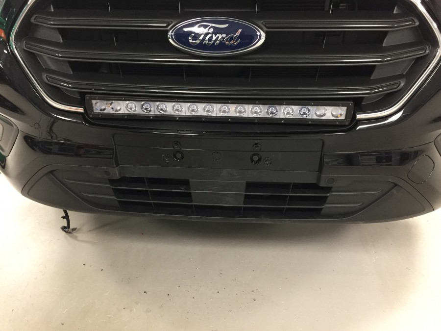 Infälld LED Ramp 670mm Ford Custom.