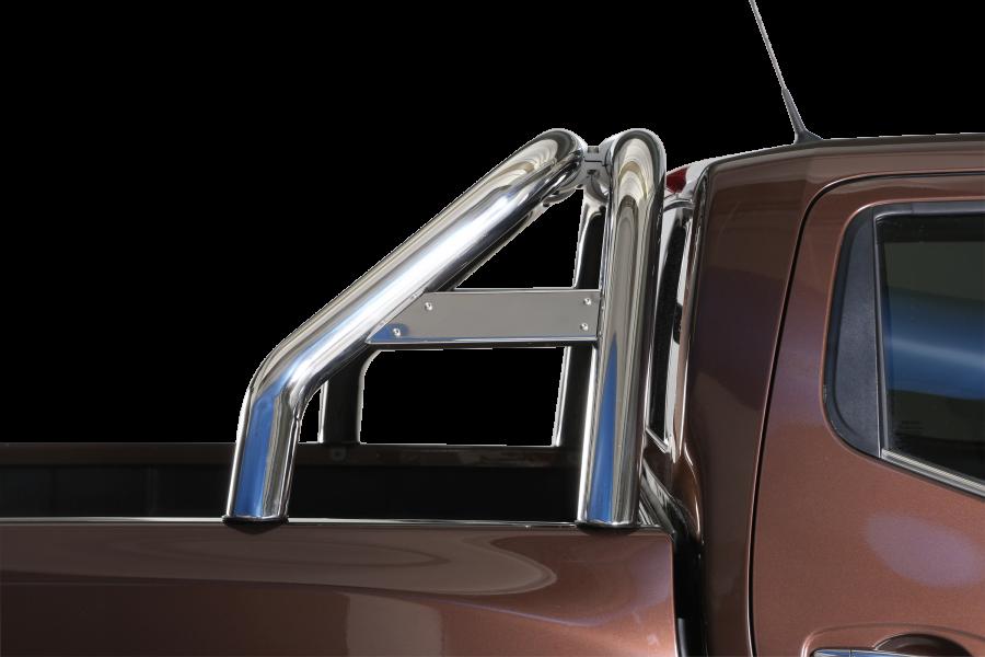 Rostfri flakbåge Nissan Navara 2016-.