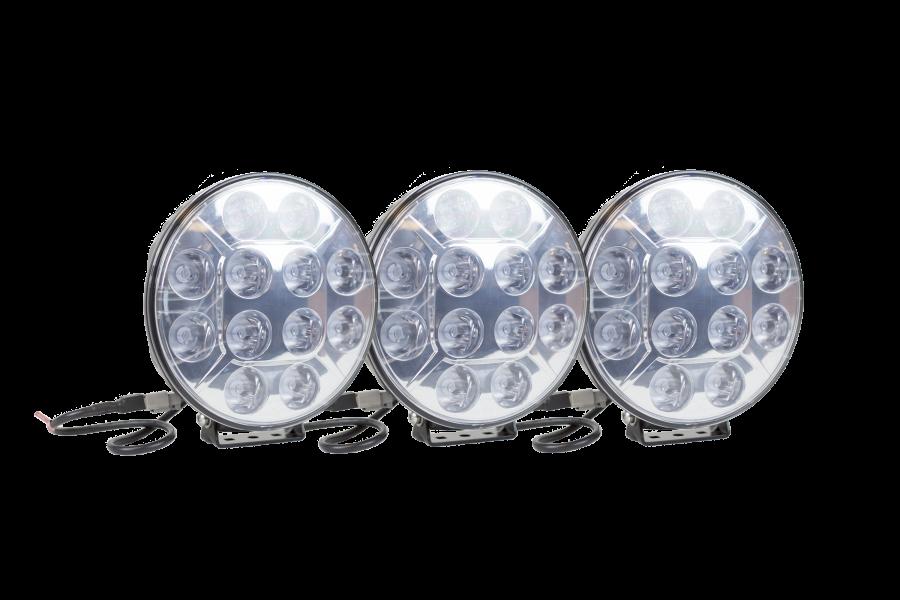3st LED Extraljus 220mm.