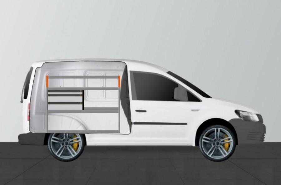 Bilinredning för VW Caddy L1