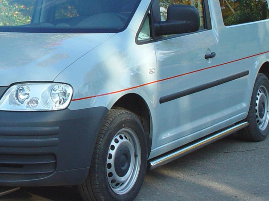 Sidorör utan steg till VW Caddy 2004-2019.