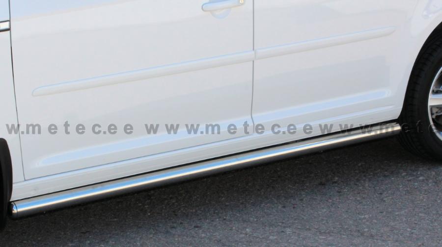 Sidorör utan steg till VW Caddy Maxi 2016-.