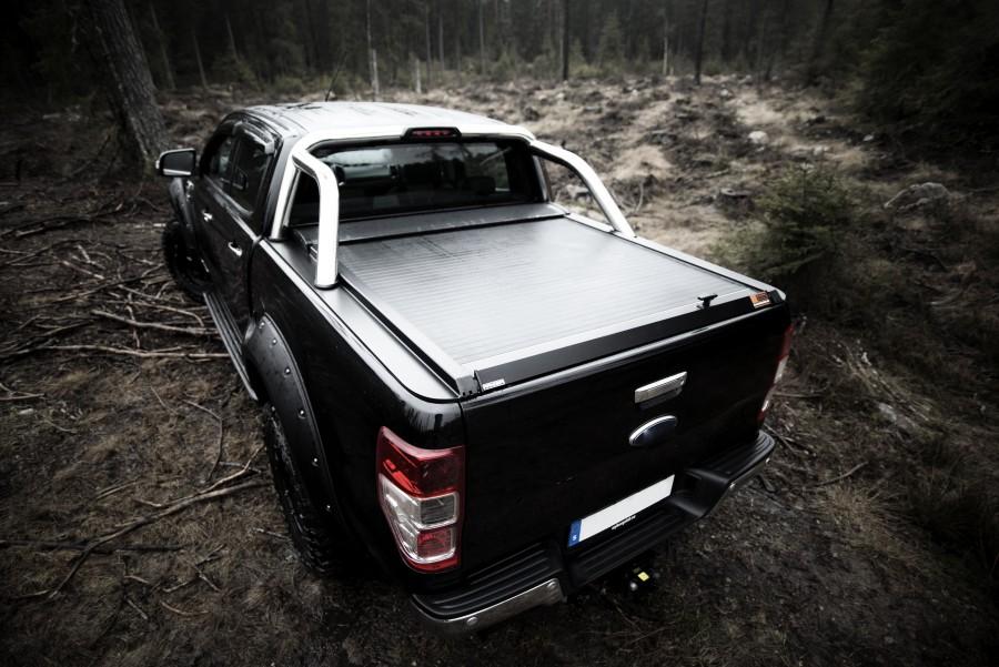Rolltop Ford Ranger 2012- med vanligt flak.