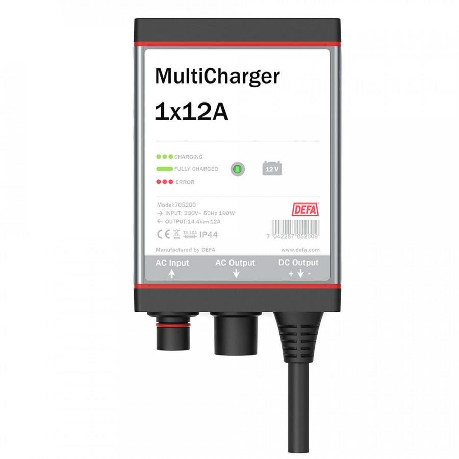 Laddare Defa MultiCharger 12A