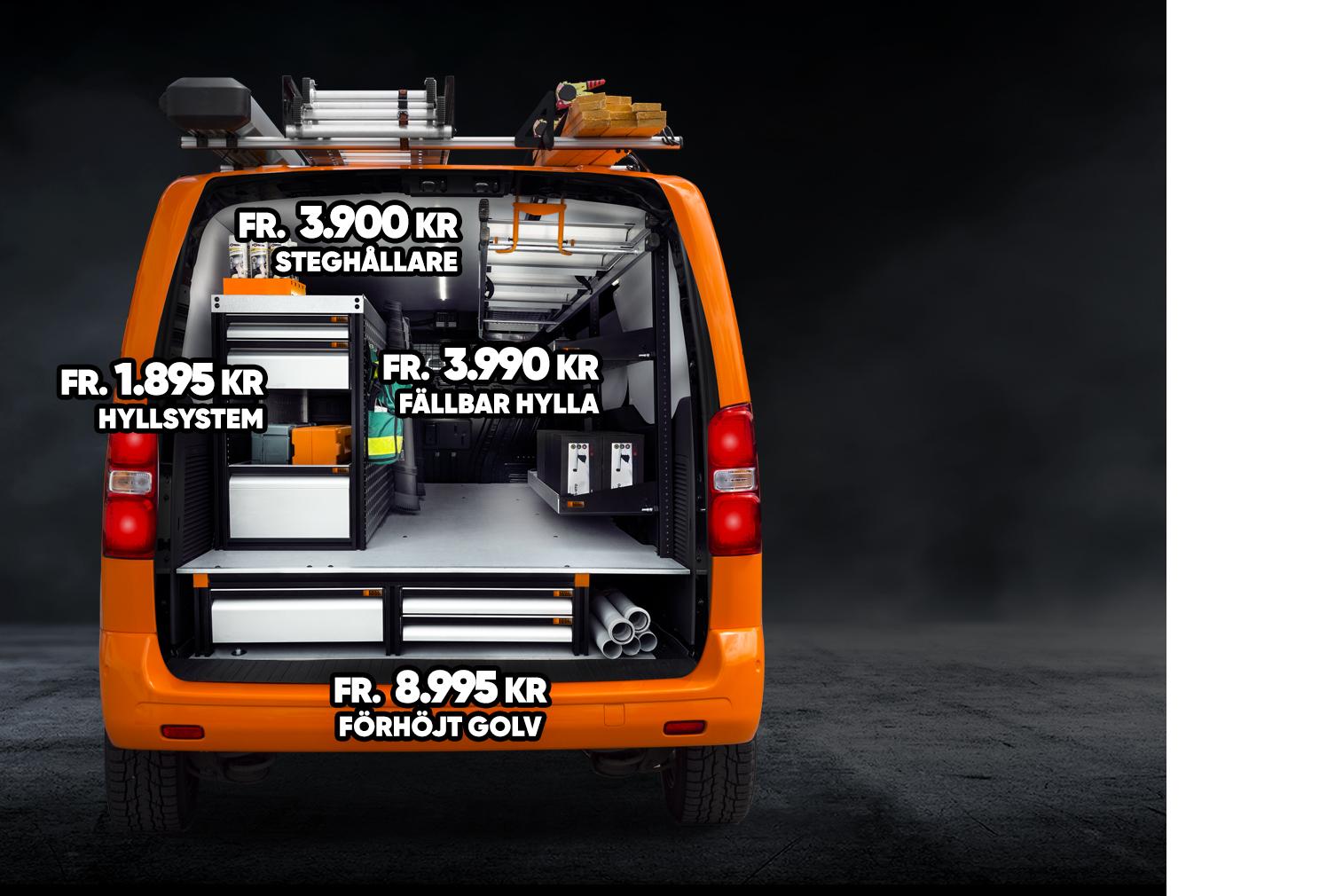 Work System erbjuder svensktillverkad bilinredning och bilutrustning till marknadens bästa pris